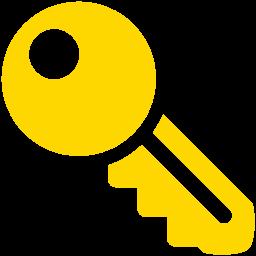 Free Gold Key Icon Download Gold Key Icon
