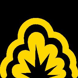 smoke explosion icon