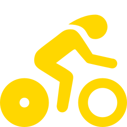 time trial biking icon