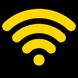 Free Gold Wifi Icon Download Gold Wifi Icon