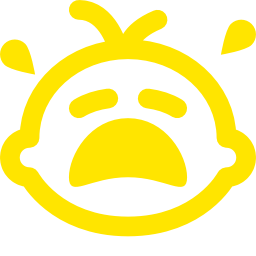 crying baby icon