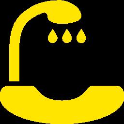 hair washing sink icon