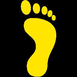 right footprint icon