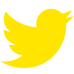 Free Yellow Twitter Icon Download Yellow Twitter Icon