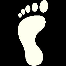 left footprint icon