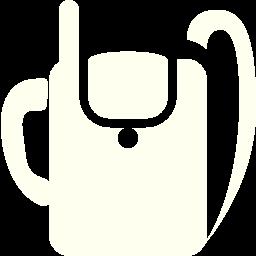 military backpack radio icon