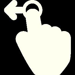 swipe left 2 icon