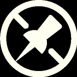 unpin 2 icon
