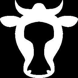 Free White Cow Icon Download White Cow Icon