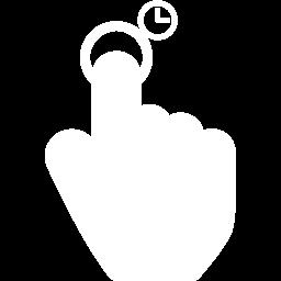 finger copy icon