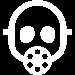Free White Gas Mask Icon Download White Gas Mask Icon