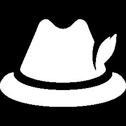 Free White German Hat Icon Download White German Hat Icon