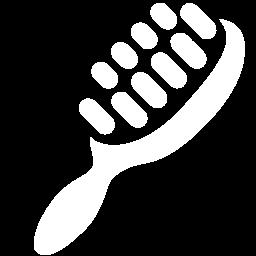 Free White Hair Brush Icon Download White Hair Brush Icon