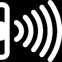 infrared beam sending icon