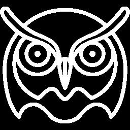 Free White Owl Icon Download White Owl Icon